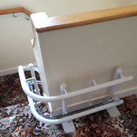 Platinum Curved Stairlift